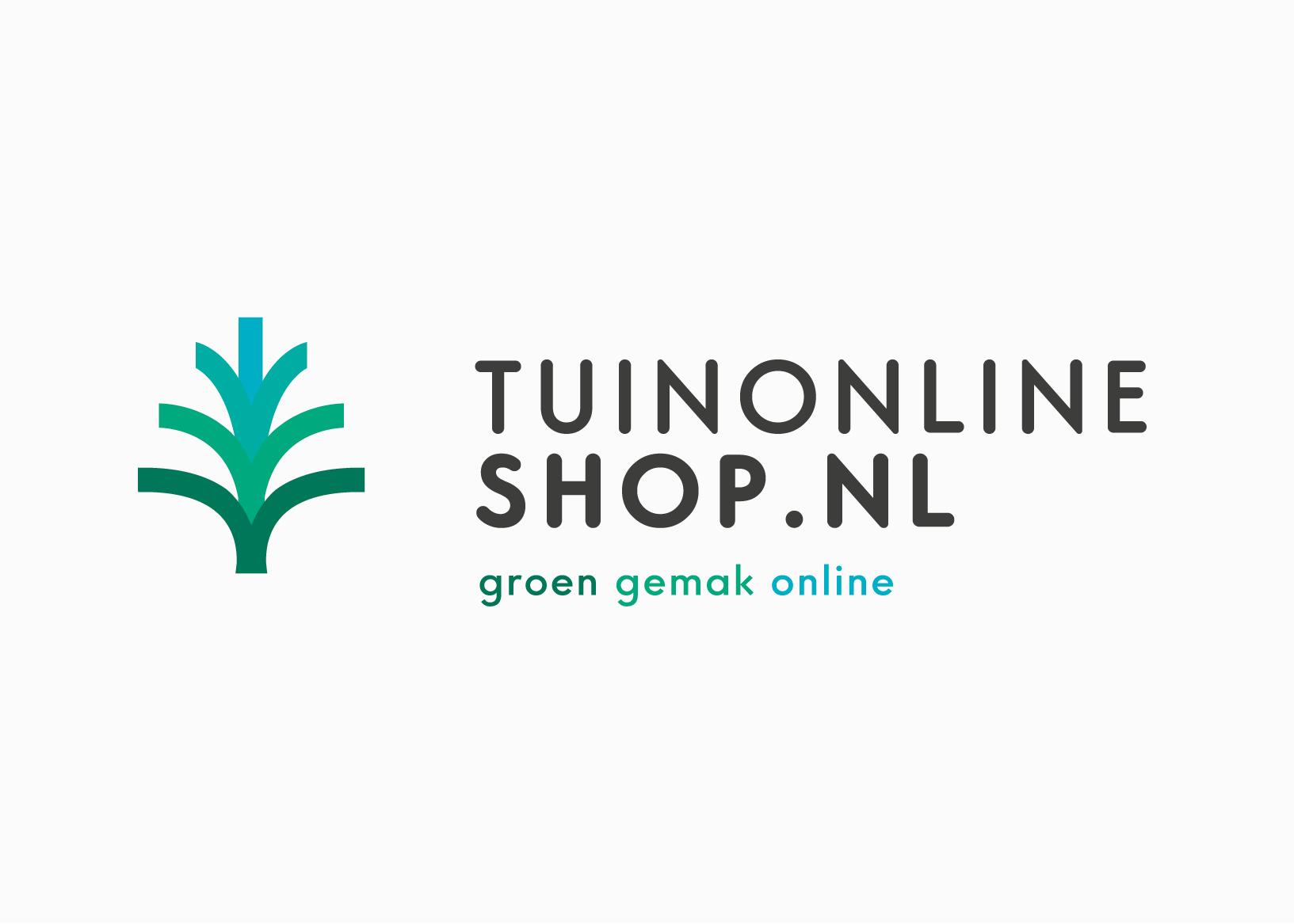 Voorbeeld van een logo ontwerp voor Tuinonlineshop.nl. Ontwerpbureau: burowit in Kampen