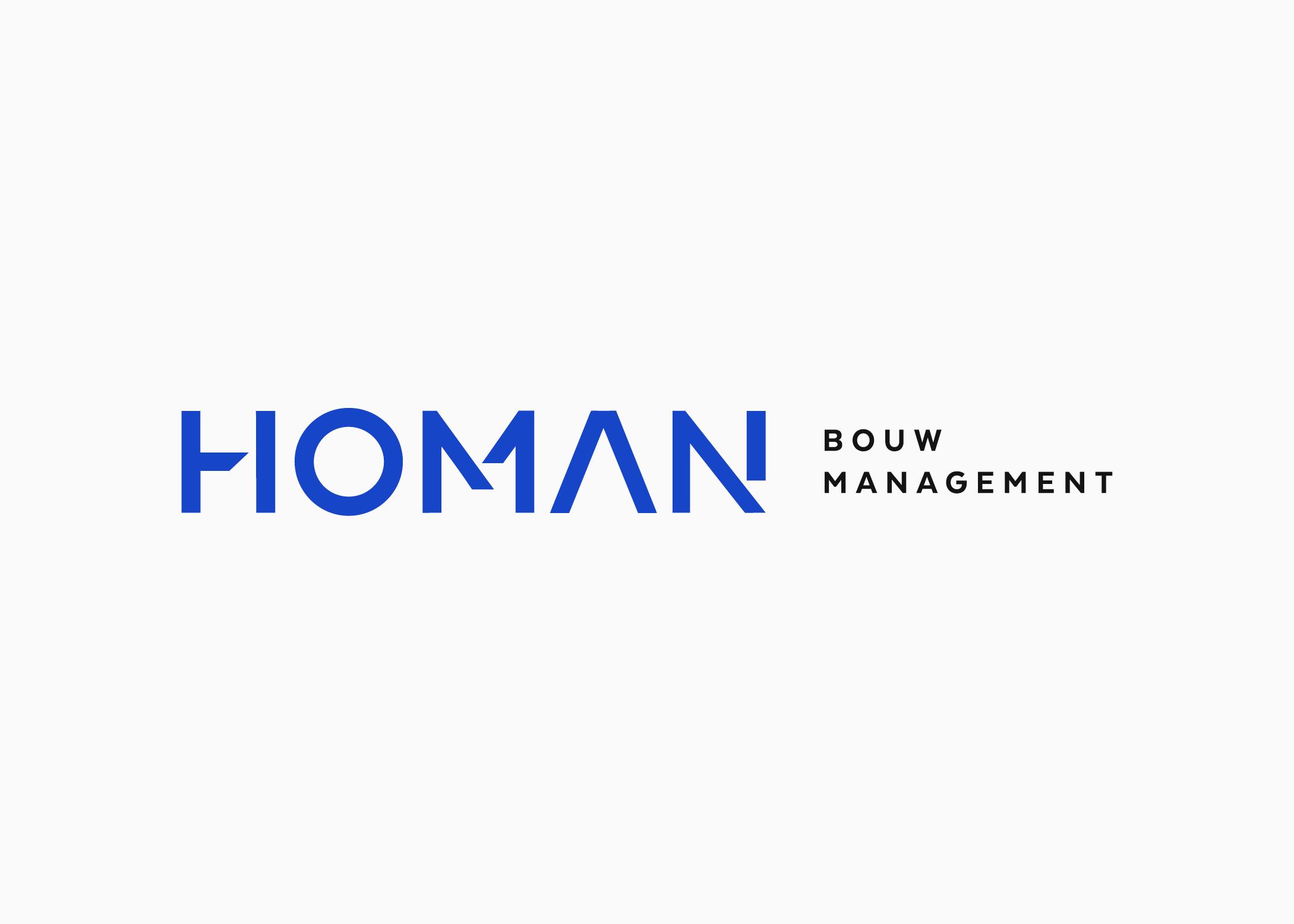Logo-ontwerp-Homan-bouwmanagement-logodesigner-burowit-Thirza-Bakker