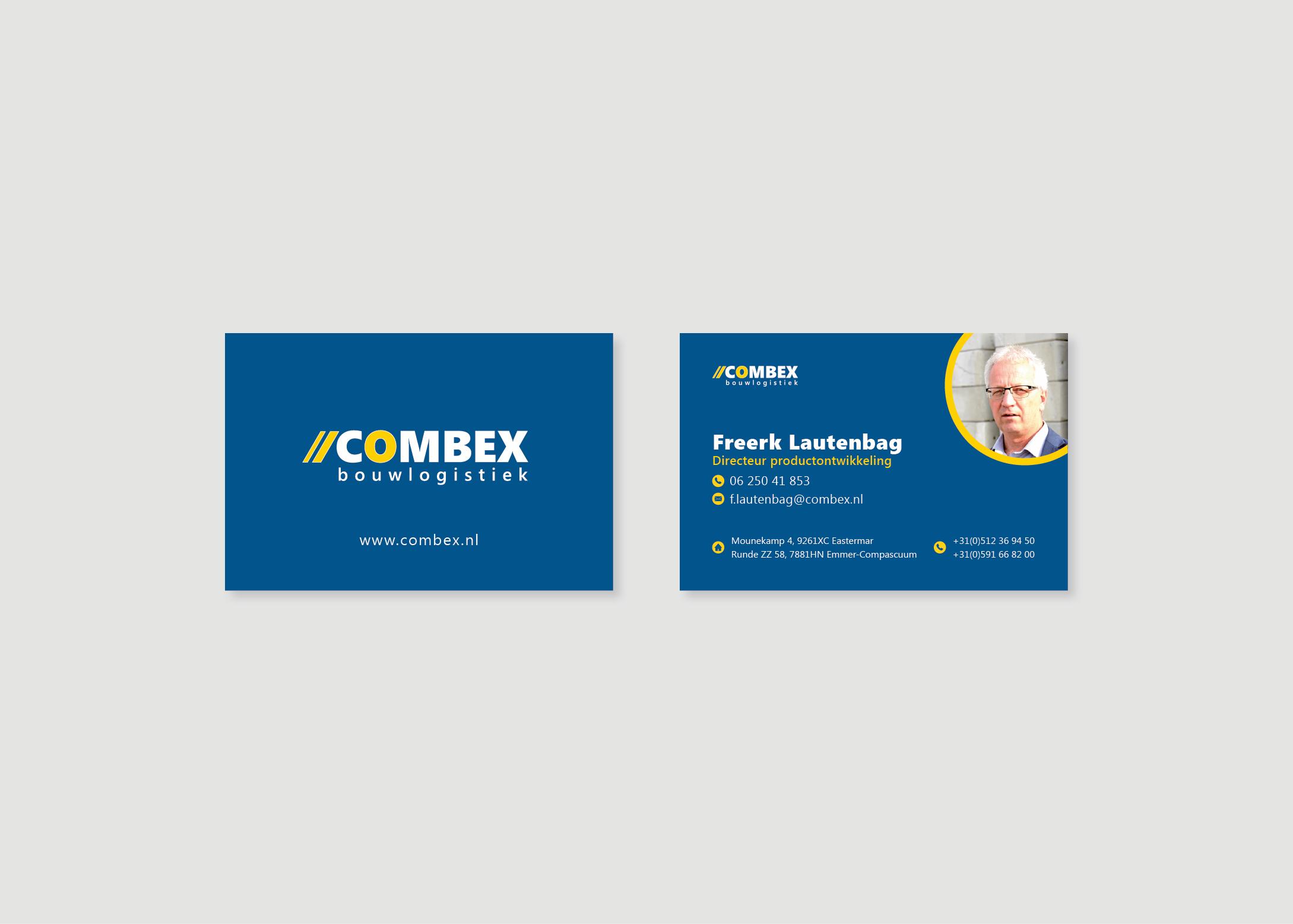 Visitekaartje-ontwerp-burowit-reclame-bureau-Combex-Bouwlogistiek
