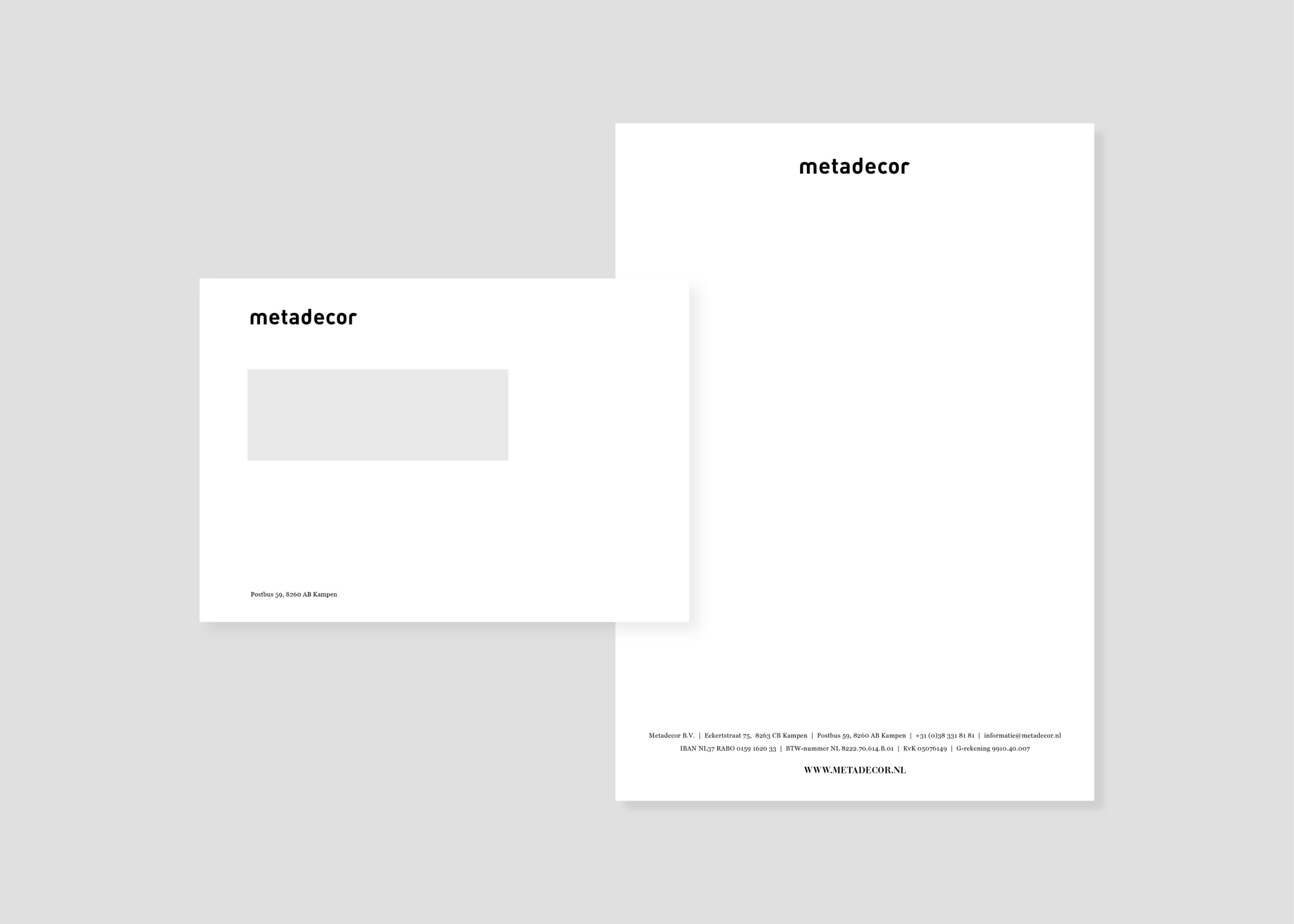 Opdracht – MD – Briefpapier