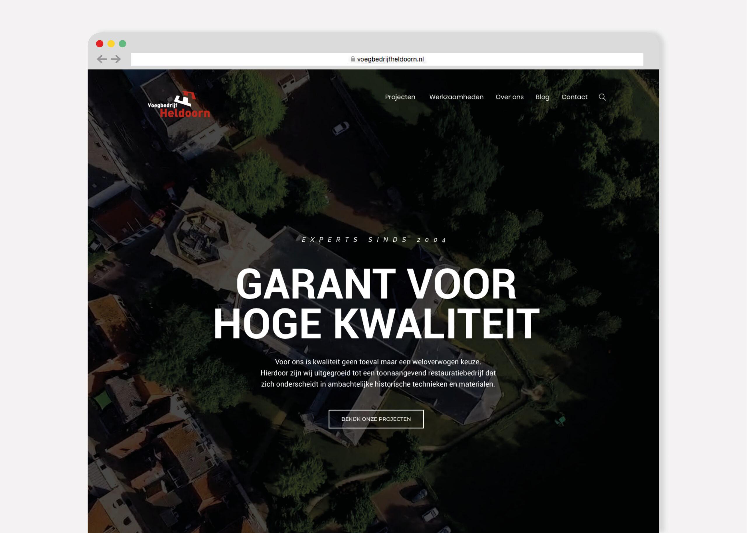 Burowit Kampen webdesign hosting website laten maken Thirza Bakker David van der Toorn
