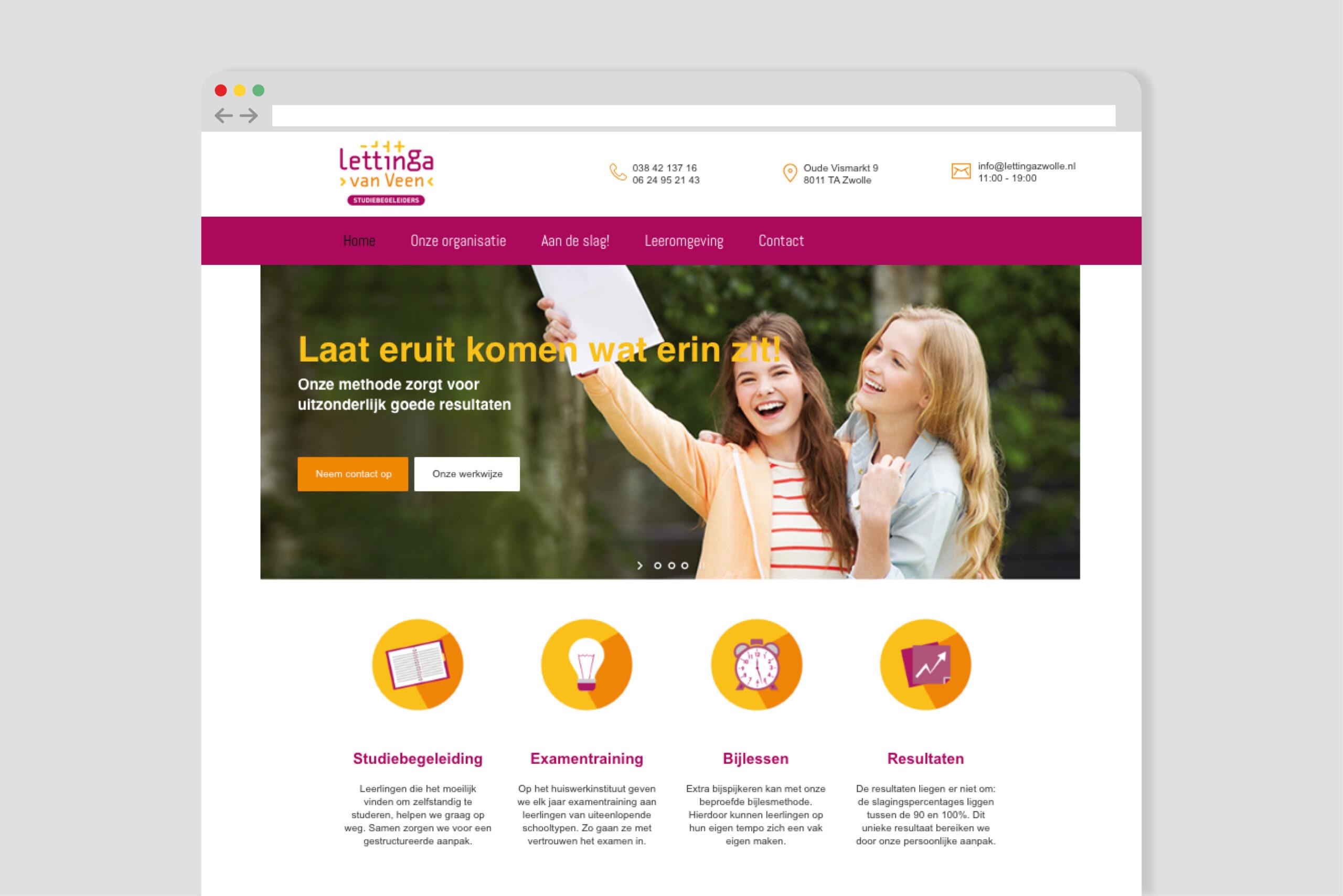 Burowit webdesign website laten maken Thirza Bakker David van der Toorn